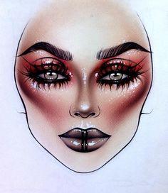 @milk1412 #makeup #makeupart | ♦F&I♦