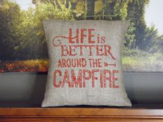 Custom made rustic Life is better around the campfire by ShamShack