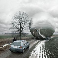 photos surrealistes de erik johansson 18   Les photos surréalistes de Erik Johansson    surrealiste photoshop photographe photo image Erik J...