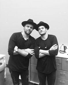 Joel Houston and Matt Crocker - Hillsong UNITED #hillsongunited