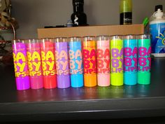 maybelline baby lips collection. They rock!!