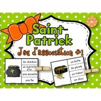 La Saint-Patrick - Jeu d'association #1