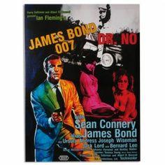 CARTEL DE CINE JAMES BOND 007 DR. NO