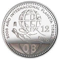 Moneda conmemorativa 12 euros 2008., Tienda Numismatica y Filatelia Lopez, compra venta de monedas oro y plata, sellos españa, accesorios Leuchtturm
