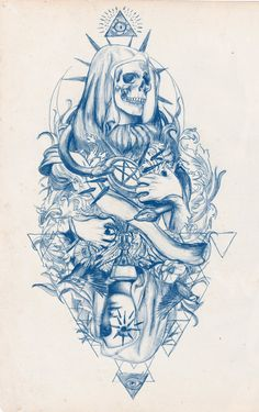 Trippy Drawings, Tattoo Design Drawings, Tattoo Sketches, Satanic Tattoos, Graffiti Lettering Fonts, Horror Drawing, Emo Art, Pyrography Patterns, Goddess Tattoo