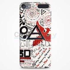 30 Second To Mars Logo iPod Touch 6 Case | casefantasy