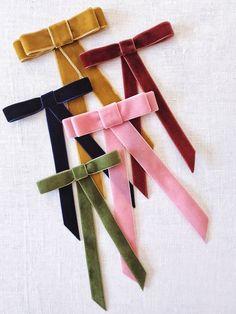 DIY velvet ribbon