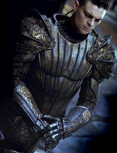 Karl Urban as Lord Vaako in The Chronicles of Riddick