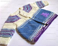 Baby cardigan sweater for boy girl in blue by Polar1Butterfly, $50.00