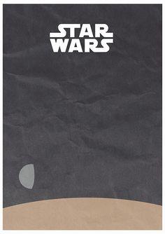 Star Wars - A New Hope by Rafal Rola, via Behance.net