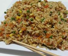 Thermomix Recipe Community: Non-Fried Fried Rice by Witsy - Recipe of category Pasta & rice dishes Wrap Recipes, Paleo Recipes, Asian Recipes, Cooking Recipes, Radish Recipes, Rice Recipes, Thermomix Recipes Healthy, Cantaloupe Recipes, Dishes Recipes