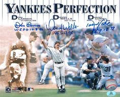 Yankee PERFECTION!!! Who believes that pitching a Perfect Game is the hardest feat to accomplish in baseball?  #yankees  #perfection #auction