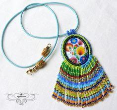 Agolloarte: Polski folklor. Crochet Earrings, Beads, Jewelry, Beading, Jewlery, Jewerly, Schmuck, Bead, Jewels