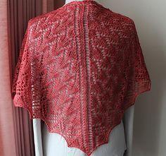 Ravelry: Summer Mystery Shawlette pattern by Wendy D. Johnson