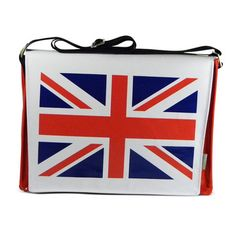 Union Jack Flag Messenger Red now featured on Fab. 47$