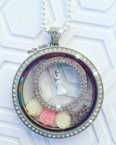 Have a wedding coming up? How beautiful is this locket? #BrideToBe… jenniferlynch.origamiowl.com