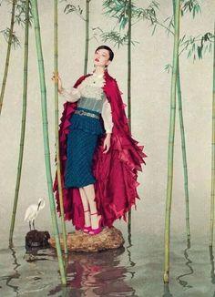 大陸攝影師孫郡,把現代女明星拍成了中國古畫,創意、技巧雙絕,嘆為觀止~-娛樂 微信上的中國