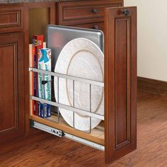 kitchen cabinet parts painting cabinets black 98 best organizers images cupboards kitchens rev a shelf wide tray divider foil wrap holder with soft close the hardware hut