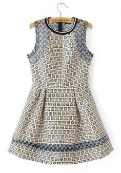 jacquard dresses