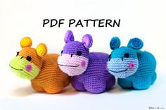 Crochet Amigurumi Pattern DIY PDF Instructions Instant by Amichy