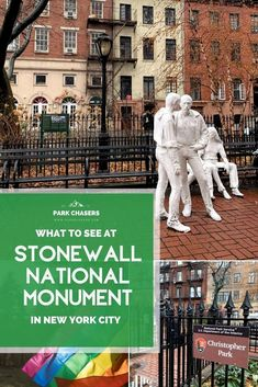 Take a self-guided tour at one of our newest national park unit and find out what to see at Stonewall National Monument in New York City. National Park Lodges, Acadia National Park, National Parks, National Park Passport, Monument Park, New York Attractions, Passport Stamps, Washington Square Park, Travel Route