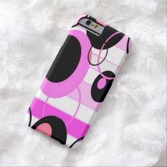 Pink Polka Dots iPhone 6 Case by BOLO Designs.