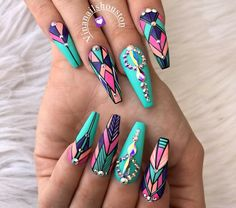 Follow: ❤Omgfashionshades❤ OHMYGOSHFASHION.COM Free shipping no code needed Acrylic Nail Designs, Acrylic Nail Art, Nail Art Designs, Stiletto Nails, Fabulous Nails, Gorgeous Nails, Pretty Nails, Dope Nails, Get Nails