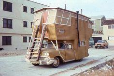 1958 Chevrolet based 2 storey motorhome