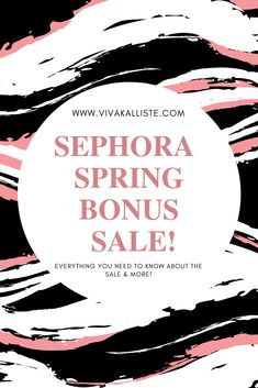 Hey loves! It's that time of year again... the Sephora VIB Spring Sale! Here's my wish list with tips on how to save even more $$$!  #sephora #sale #bblogger #beauty #skincare #haircare #blogger #sales #shopping