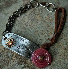 This is SOOO awesome!    Limitless Bracelet by GlassAddictions, via Flickr