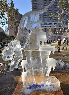 Magnificent 7 Ice Carving Competition by Texas.713, via Flickr