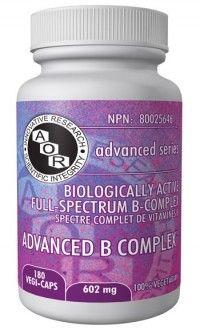 AOR Advanced B Complex - 602 mg $50.49 - from Well.ca
