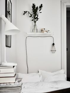 32 Simple Bedroom Design For Comfortable Home Decor , Many times, the bedroom becomes short-changed in regards to design. In the event the guest bedroom is looking like a shop space, below are some very s. Minimalist Bedroom, Minimalist Home, My New Room, My Room, Home Bedroom, Bedroom Decor, Bedroom Ideas, Bedroom Storage, Bedroom Lamps