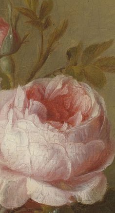 In the Princess Parlor - Dreamy, dreamy, pretty, pretty! Princess pink with sparkles and shine, wishing you a fairytale day. Botanical Illustration, Botanical Prints, Oil Painting Techniques, Oil Painting Flowers, Rose Art, Classical Art, Renaissance Art, Art Design, Aesthetic Art