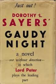 Gaudy Night--original cover?
