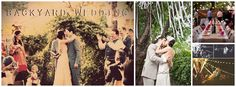 Backyard Fall Wedding Ideas (not all of this is necessary for us but some of it could be useful