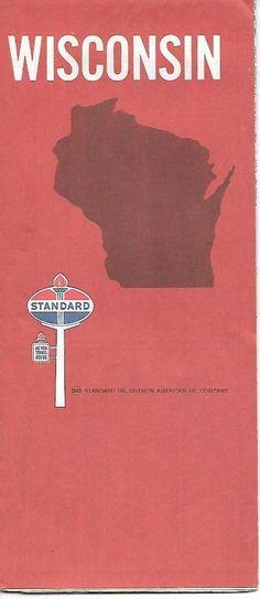 Map Standard Oil Eastern US Vintage Road Map BK Standard Oil - 1967 road map us