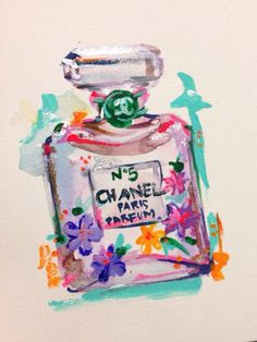perfume flower art - Google Search