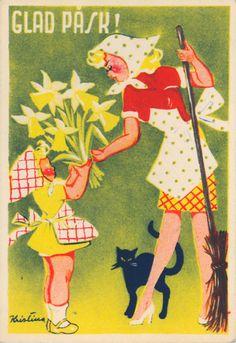Glad Påsk! (c.1950)