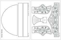 wk 6 Ready-to-color Roman Imperial helmet template Roman Soldier Helmet, Roman Soldier Costume, Roman Helmet, Templates Printable Free, Printables, Biblical Costumes, Helmet Of Salvation, Obelix, Vbs Themes