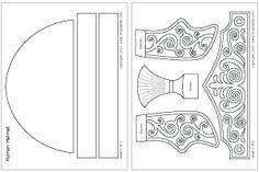 wk 6 Ready-to-color Roman Imperial helmet template Roman Soldier Helmet, Roman Soldier Costume, Roman Helmet, Romans For Kids, Bible For Kids, Templates Printable Free, Printables, Roman Chariot, Helmet Of Salvation