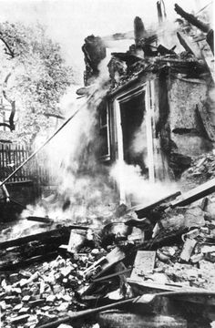 Pictured here is a synagogue in Korbach, Germany after it was destroyed during Kristallnacht. Most Jews had left Korbach before Kristallnacht. The remaining Jews were later deported. Rabbi Moritz Goldwein, the rabbi of the synagogue in Korbach, and his wife Rosa, were able to send their son, Manfred, to America before the deportations began. Rabbi Moritz and Rosa Goldwein later perished in Auschwitz.   In 1993, Manfred Goldwein submitted Pages of Testimony to Yad Vashem in memory of his…