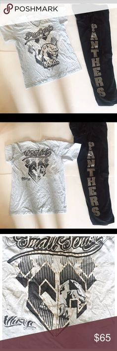 BABS Panthers BLINGED GEAR American Apparel BABS Custom Shirt and BABS Sweatpants set! Custom made for competition. Other