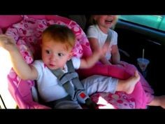 Baby wakes up for Gangnam Style! Too cute!