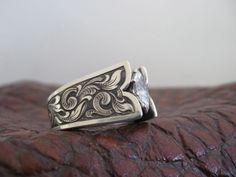 Travis Stringer western wedding ring!