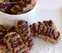Quinoa Almond Joy Bars and 25 Quinoa Dessert Recipes - MyNaturalFamily.com #quinoa #recipe