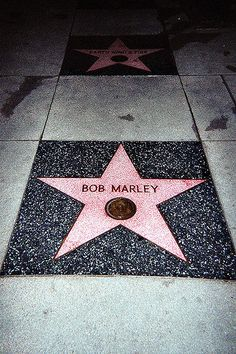 Bob Marley star, i will see this one day