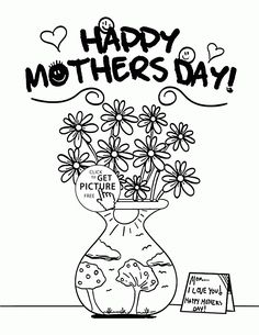 flowers for mommy mothers day coloring page for kids coloring pages printables free