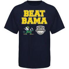 Notre Dame Fighting Irish 2013 BCS National Championship Game Bound Beat Bama T-Shirt! #BeatBama