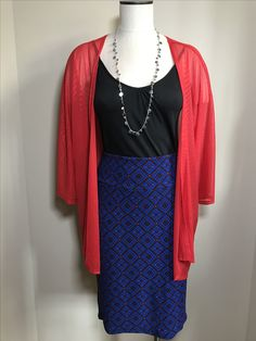 🇺🇸Patriotic Pair🇺🇸 L Monroe $48 with a L Cassie skirt $35! Please visit LuLaRoe Janet Wilson to purchase!